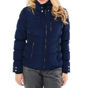 obermeyer leighton jacket- NAVY STORM CLOUD